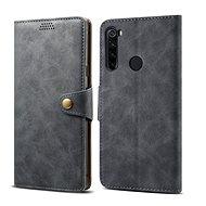 Lenuo Leather pro Xiaomi Redmi Note 8T, šedá