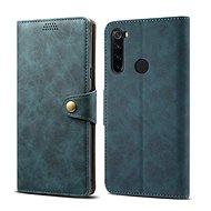 Lenuo Leather pre Xiaomi Redmi Note 8T, modré - Puzdro na mobil