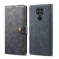 Puzdro na mobil Lenuo Leather pre Xiaomi Redmi Note 9, sivé - Pouzdro na mobil
