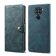 Puzdro na mobil Lenuo Leather pre Xiaomi Redmi Note 9, modré - Pouzdro na mobil