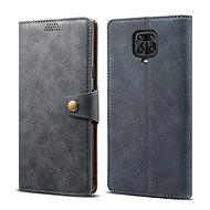 Puzdro na mobil Lenuo Leather pre Xiaomi Redmi Note 9 Pro/ Note 9S, sivé - Pouzdro na mobil