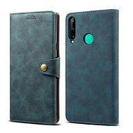 Puzdro na mobil Lenuo Leather pre Huawei P40 Lite E, modré - Pouzdro na mobil