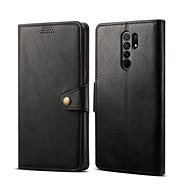 Lenuo Leather pre Xiaomi Redmi 9, čierne