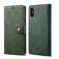 Lenuo Leather pre Xiaomi Redmi 9A, zelené