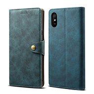 Lenuo Leather pre Xiaomi Redmi 9A, modré - Puzdro na mobil