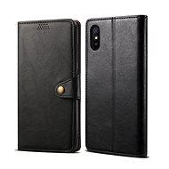 Lenuo Leather pre Xiaomi Redmi 9A, čierne