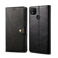 Puzdro na mobil Lenuo Leather pre Xiaomi Redmi 9C, čierne - Pouzdro na mobil