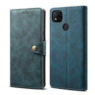 Puzdro na mobil Lenuo Leather pre Xiaomi Redmi 9C, modré - Pouzdro na mobil