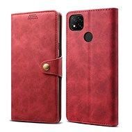 Lenuo Leather pre Xiaomi Redmi 9C, červené - Puzdro na mobil