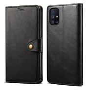 Puzdro na mobil Lenuo Leather na Samsung Galaxy M51, čierne - Pouzdro na mobil
