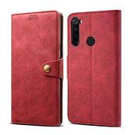Lenuo Leather pre Xiaomi Redmi Note 8, červené