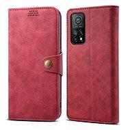 Lenuo Leather pre Xiaomi Mi 10T/10T Pro, červené