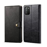 Lenuo Leather pre Xiaomi Poco M3, čierne