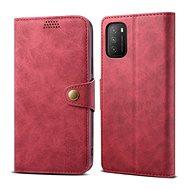Lenuo Leather pre Xiaomi Poco M3, červené