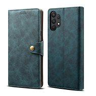 Lenuo Leather pre Samsung Galaxy A32 5G, modré - Puzdro na mobil