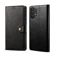Lenuo Leather pre Samsung Galaxy A32 5G, čierne - Puzdro na mobil