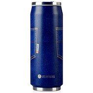 LES ARTISTES Cestovný termohrnček 500 ml Blue Jean A-1885 - Termohrnček