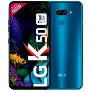 LG K50 modrá - Mobilný telefón