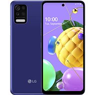 LG K52 modrý - Mobilný telefón