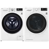 LG F4WV708P1 + LG RC82EU2AV4Q - Set práčka a sušička