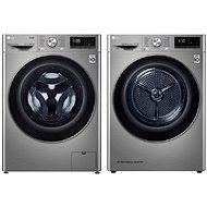 LG F4WV909P2TE+LG RC91V9EV2Q - Set práčka a sušička