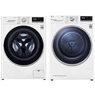 LG F4WT409AIDD + LG RC81V5AV7Q - Set práčka a sušička