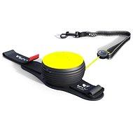 Lishinu Light Lock Neon Hand-Free žlté - Vodítko pre psa