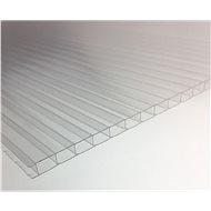LANITPLAST Komôrkové presklenie PC 4 mm pre LANITPLAST PLUGIN 8 × 12 strieborný/zelený - Skleník