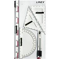 Linex BBM-S sada 6 ks rýsovacích potřeb na magnetické tabule - Pravítko