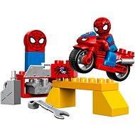LEGO DUPLO 10607 Spidermanova dielňa pre pavučinové koleso - Stavebnica