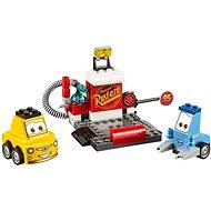 LEGO Juniors 10732 Zastávka v boxoch Guida a Luigiho - Stavebnica