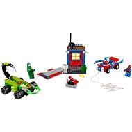 LEGO Juniors 10754 Spiderman vs. Scorpion – Súboj na ceste - Stavebnica