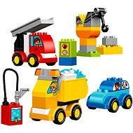 LEGO DUPLO 10816 Moje prvé autíčka a nákladiaky - Stavebnica