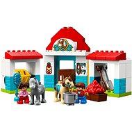 LEGO DUPLO Town 10868 Stajne pre poníka - Stavebnica