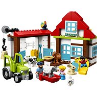 LEGO DUPLO Town 10869 Dobrodružstvo na farme - Stavebnica