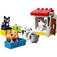 LEGO DUPLO Town 10870 Zvieratká z farmy - Stavebnica
