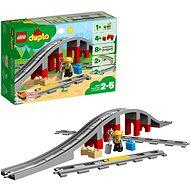 LEGO DUPLO 10872 Doplnky k vláčiku – most a koľajnice - Stavebnica