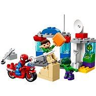 LEGO DUPLO Super Heroes 10876 Dobrodružstvo Spider-Mana a Hulka - Stavebnica