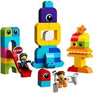 LEGO DUPLO LEGO Movie 2 10895 Emmet, Lucy a návštevníci z DUPLO planéty - Stavebnica