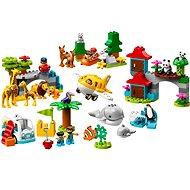 LEGO DUPLO Town 10907 Zvieratá sveta - LEGO stavebnica