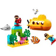 LEGO DUPLO Town 10910 Dobrodružstvo v ponorke - Stavebnica