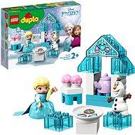 LEGO DUPLO Princess TM 10920 Čajový večierok Elsy a Olafa - LEGO stavebnica