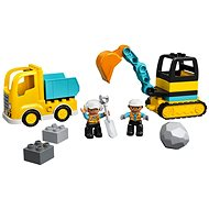 LEGO DUPLO Town 10931 Nákladiak a pásový bager - LEGO stavebnica