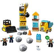 LEGO DUPLO Town 10932 Demolícia na stavenisku - LEGO stavebnica