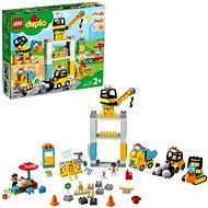 LEGO® DUPLO® 10933 Stavba s vežovým žeriavom - LEGO stavebnica