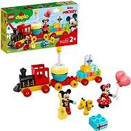 LEGO DUPLO Disney TM 10941 Narodeninový vláčik Mickeyho a Minnie - LEGO stavebnica