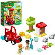 LEGO DUPLO Town 10950 Traktor a zvieratká z farmy - LEGO stavebnica