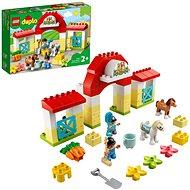 LEGO DUPLO Town 10951 Stajňa s poníkmi - LEGO stavebnica
