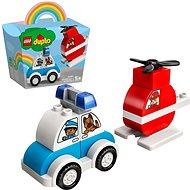 LEGO DUPLO My First 10957 Hasičský vrtuľník a policajné auto