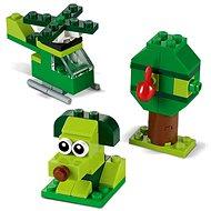LEGO Classic 11007 Zelené kreatívne kocky - Stavebnica